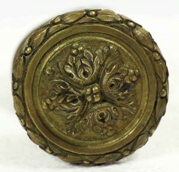 Door Knobs - Antique Italian Door Knob with Rosette
