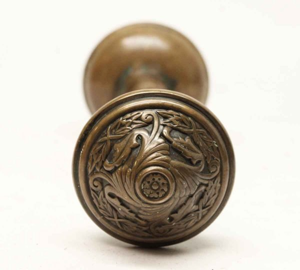 Door Knobs - Antique Sargent Brass Door Knob Set