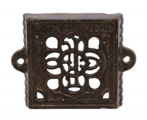 Other Hardware - Ornate Iron Card Holder Bracket