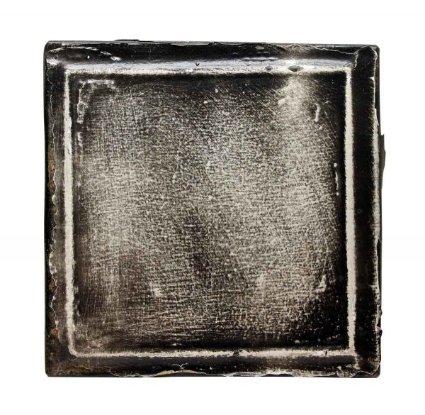 Tin Panels - Square Black & White Tin Panel