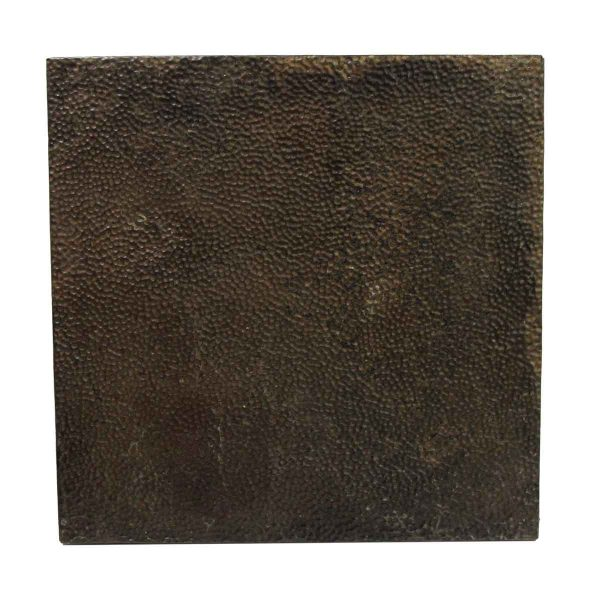 Tin Panels - Brown Textured Antique Tin Panel