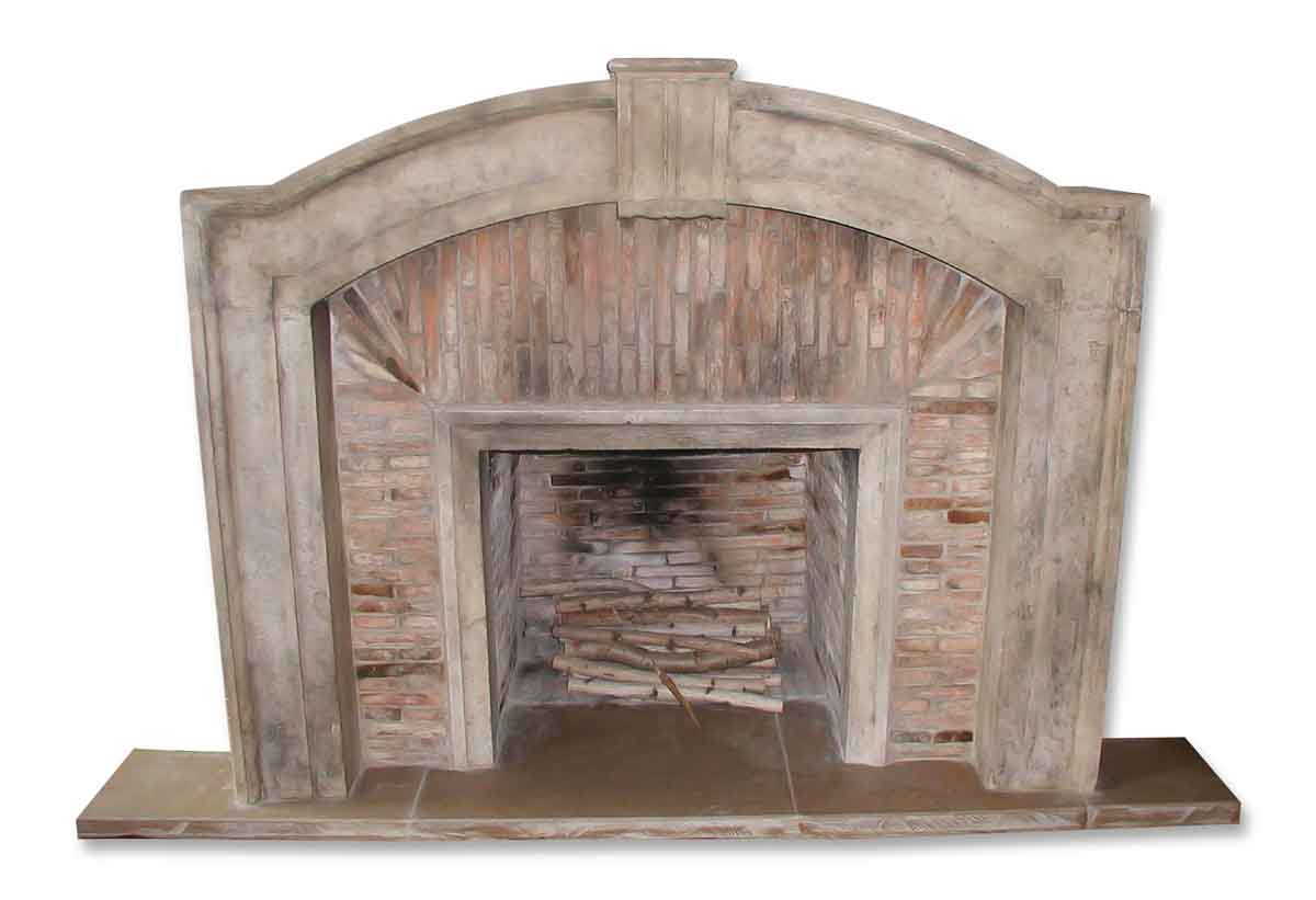 Marble Mantel Fireplace