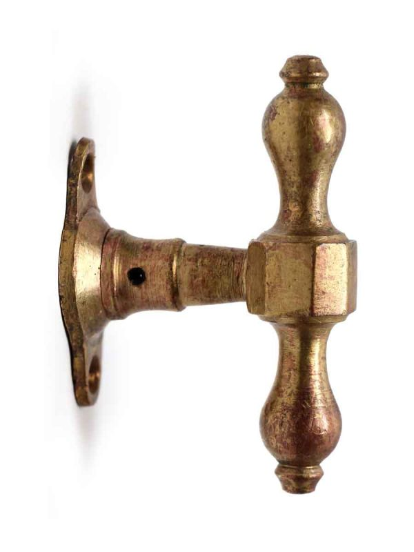 Cabinet & Furniture Knobs - Brass T Handle Knobs with Copper Finish