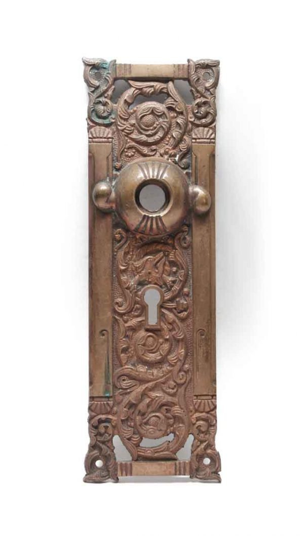 Back Plates - Antique Columbian Bronze Back Plate