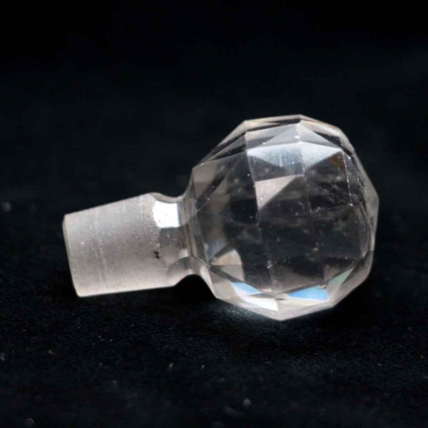 Bottle Stoppers - Faceted Glass Stopper