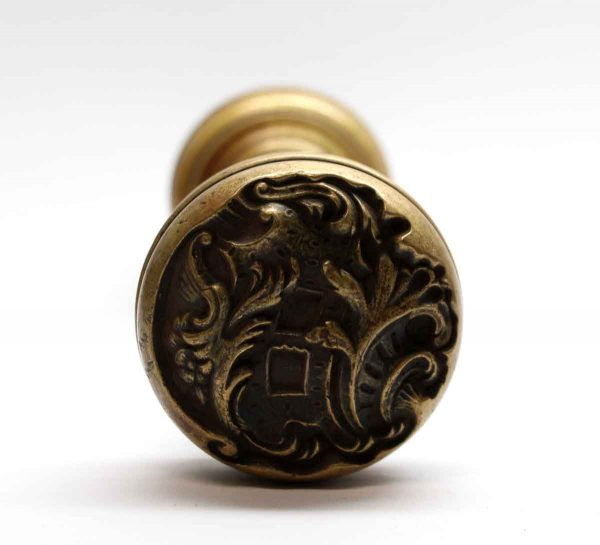 Door Knobs - Antique Rococo Bronze Reading Door Entry Set