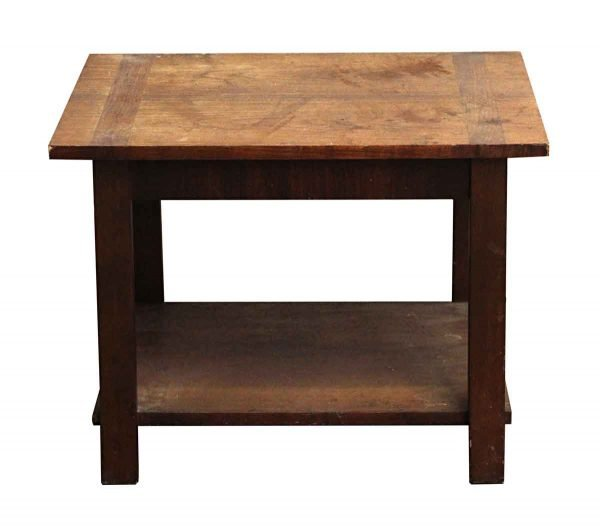 Living Room - Rustic Pine Coffee Table