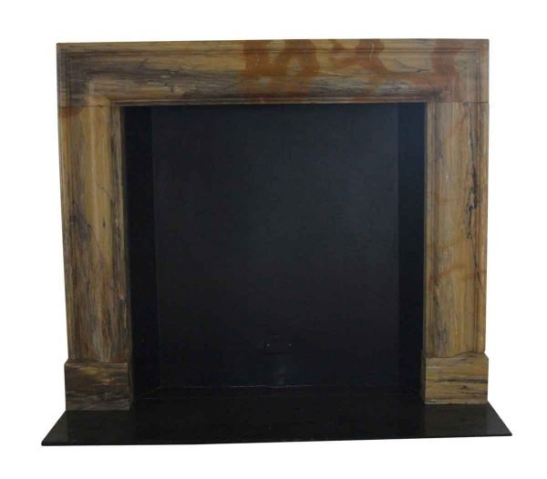 Mantels - Salvaged Waldorf Two Tone Marble Bolection Mantel