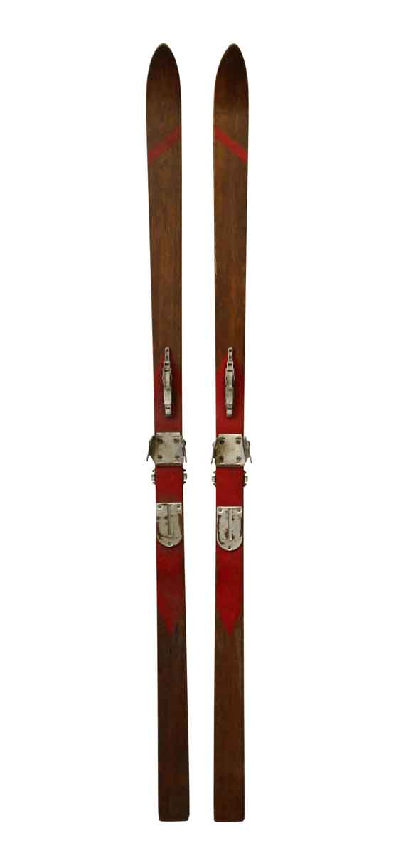 Sporting Goods - Pair of Vintage Dovre Skis