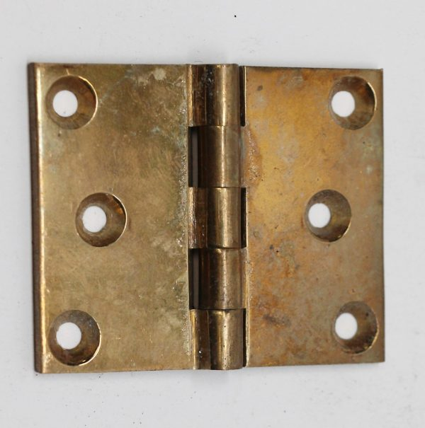 Cabinet & Furniture Hinges - Small Brass Corbin Furniture Hinge