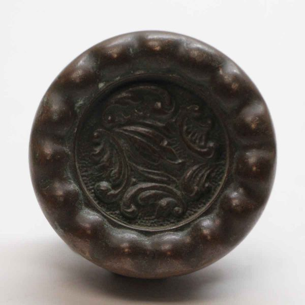 Door Knobs - Antique Reading Dark Bronze Rococo Door Knob