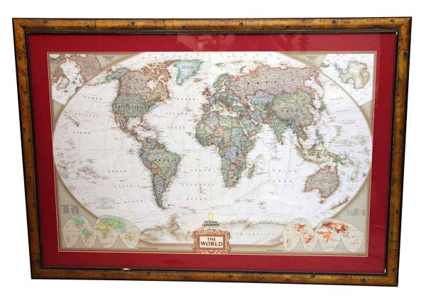 Globes & Maps - National Geographic Map of the World