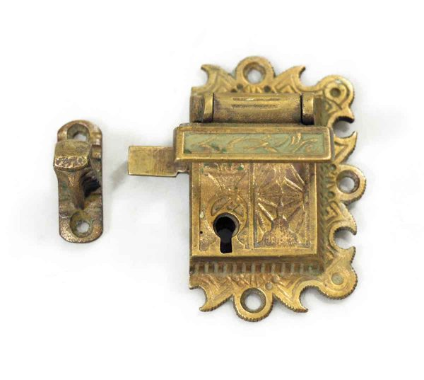 Ice Box Hardware - Antique Bronze Ice Box Latch