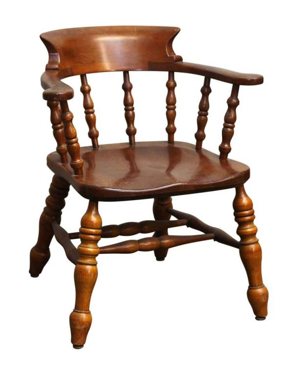 Seating - Vintage Cherry Captains Chair by L. & J.G. Stickley