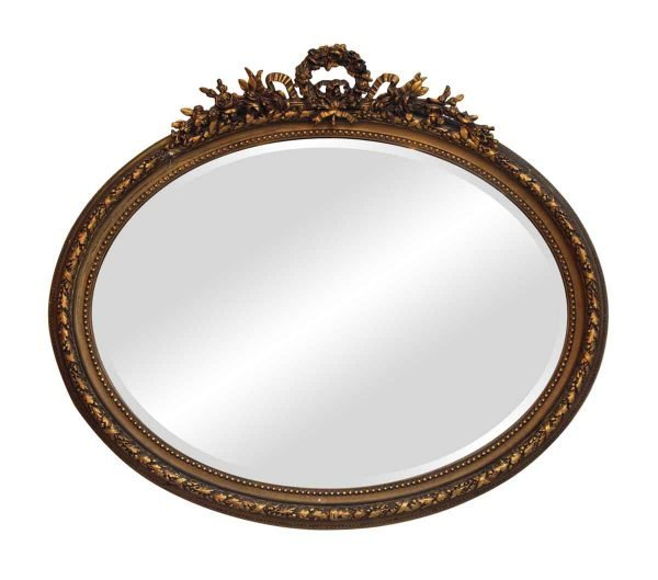 Antique Mirrors - Gilded Wooden Ornate Mirror
