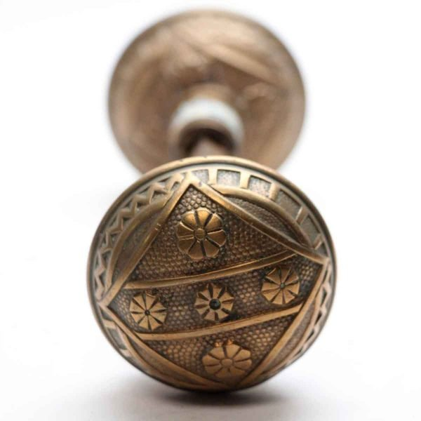 Door Knobs - Vernacular F.C. Linde 1885 Door Knob Set
