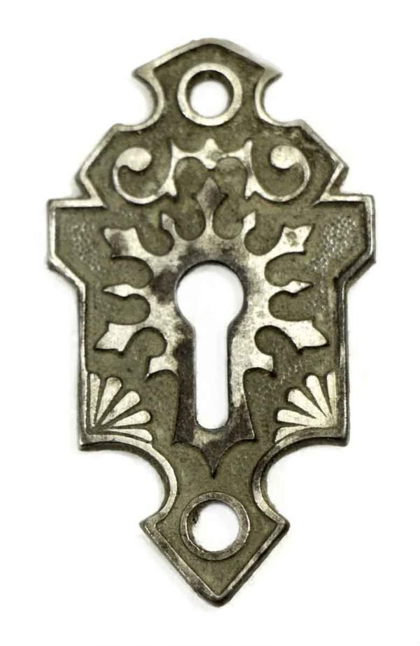 Keyhole Covers - Antique Gothic Cast Iron Key Hole Cover