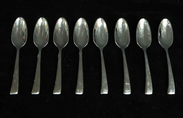 Kitchen - Salvaged Waldorf 8 Piece Brand New Sambonet Demitasse Spoon Set