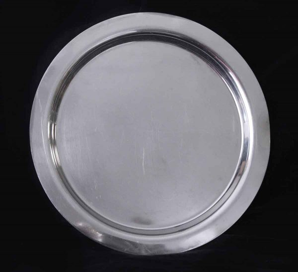 Kitchen - Salvaged Waldorf Astoria 14 in. Plain Round Serving Tray