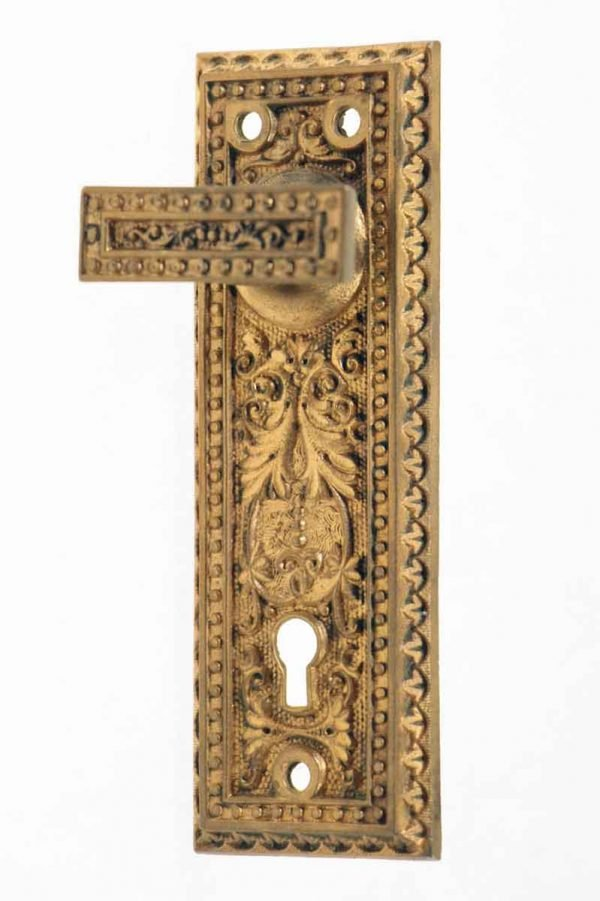 Levers - Highly Ornate Gilded Door Latch