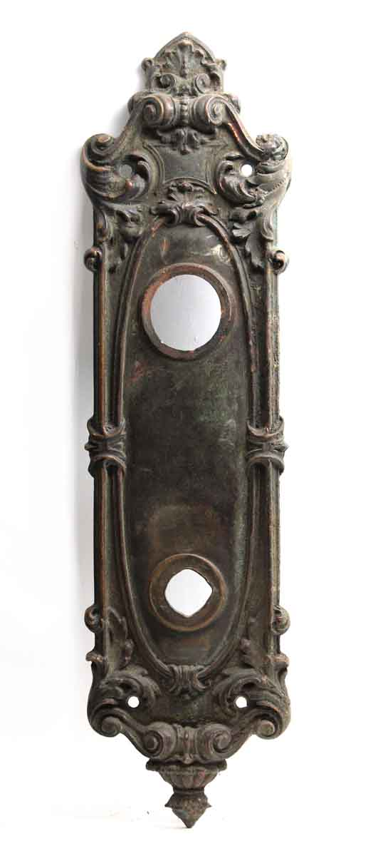 Back Plates - Bronze French Renaissance Door Back Plate