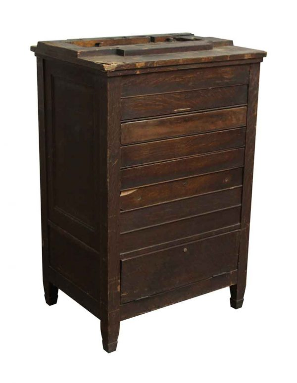 Cabinets - National Wooden Cash Register Cabinet