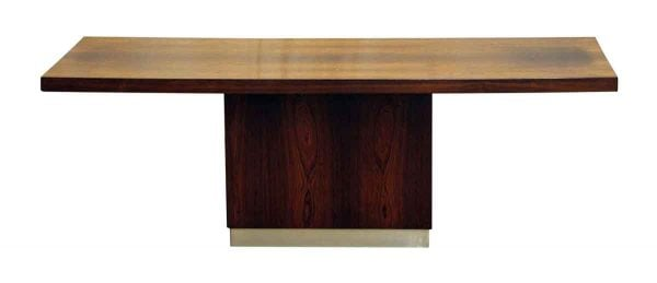 Commercial Furniture - Modern Wood Table with a Long Rectangular Top