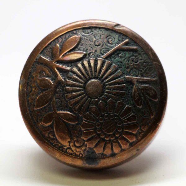 Door Knobs - Antique Asymmetrical Russell & Erwin Bronze Door Knob