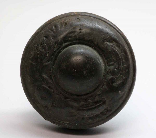 Door Knobs - Asymmetrical Bronze Corbin Entry Door Knob
