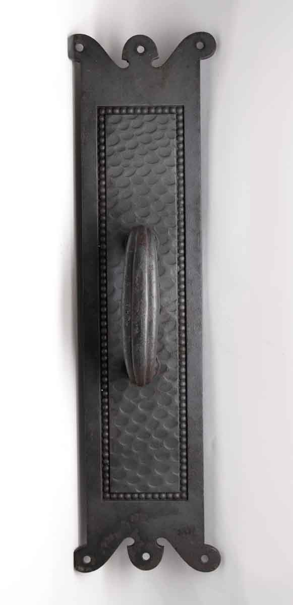 Door Pulls - Cast Iron Yale & Towne Hammered Door Pull Handle