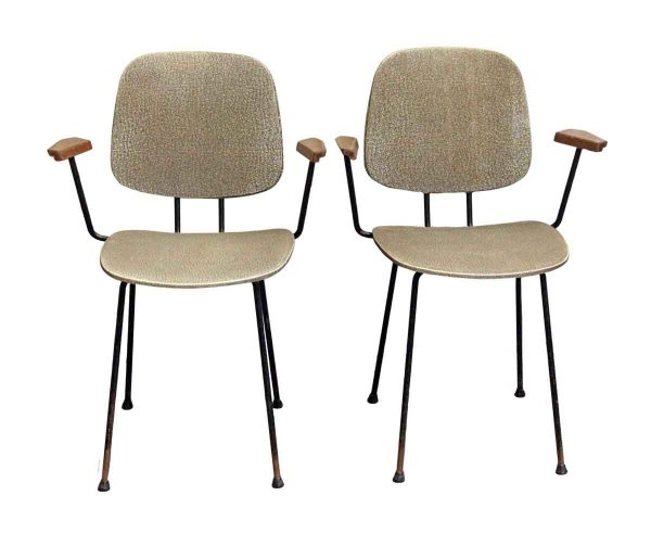 Office Furniture - Pair of European 1960s Skai Chairs