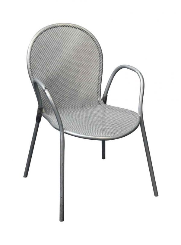 Seating - Metal Silver Commercial Mesh Chair