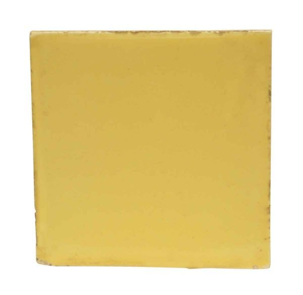 Wall Tiles - Antique Bright Yellow Tile