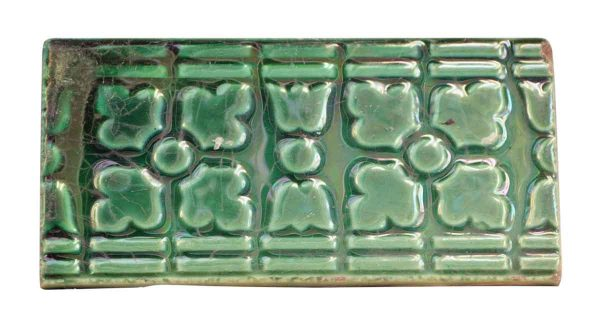 Wall Tiles - Antique Green Geometric Tile