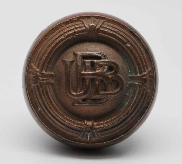 Door Knobs - Antique Pittsburgh Union Bank Building Bronze Door Knob