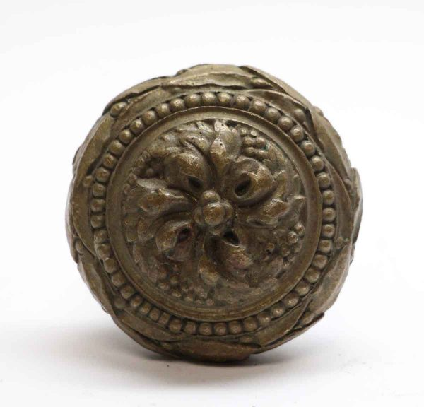 Door Knobs - Cast Bronze Interior Swirl Door Knob