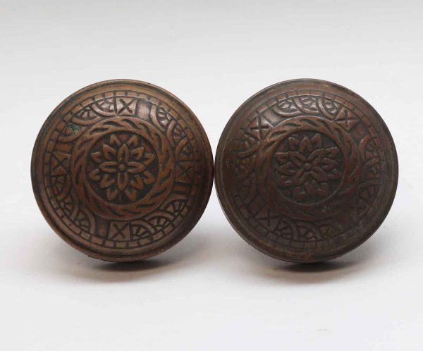 Door Knobs - Vernacular Reading Windsor Brass Door Knob Set
