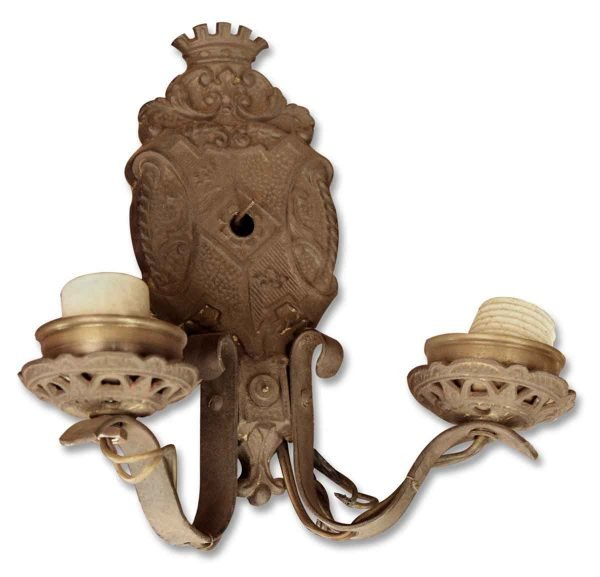 Sconces & Wall Lighting - Single Bronze Antique Victorian Sconce