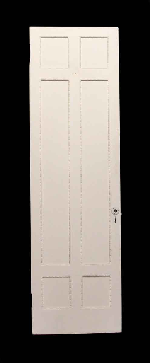 Standard Doors - Six Panel White Wooden Door