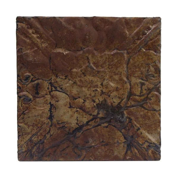 Tin Panels - Brown Distressed Tin Panel