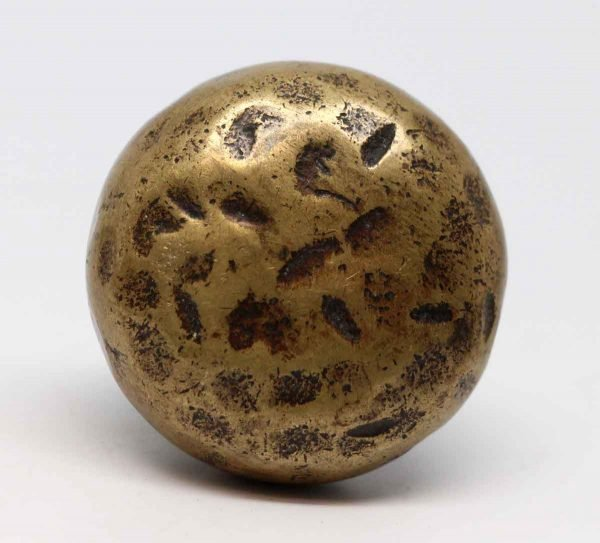Door Knobs - Hammered Brass Arts & Crafts Door Knob