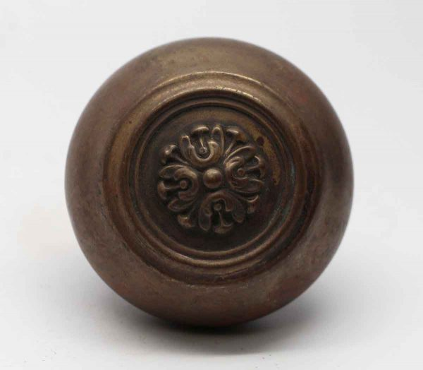 Door Knobs - Louis XVI Brass Concentric Roland Russell & Erwin Door Knob