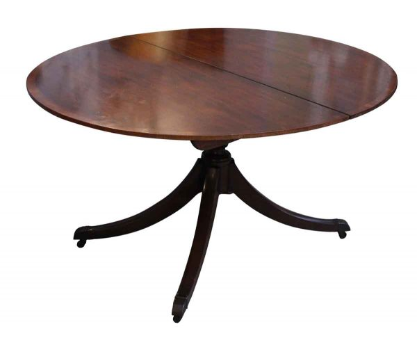 Kitchen & Dining - Mahogany Extendable Table with Wheels