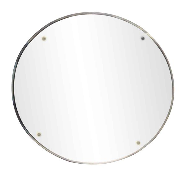 Antique Mirrors - Antique Small Round Wall Mirror
