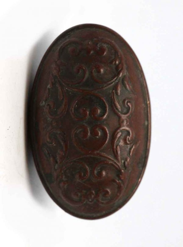 Door Knobs - Oval Bronze Reading Colonial Clifton Door Knob