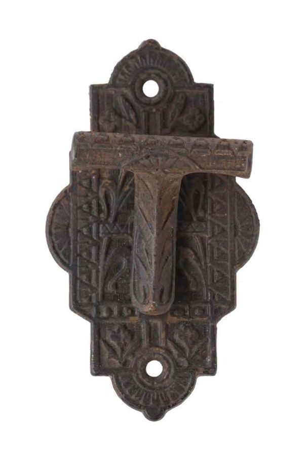 Door Pulls - Cast Iron Ornate Door Latch Pull