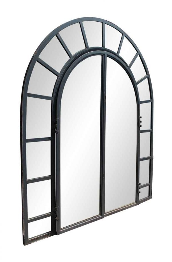 Reclaimed Windows - Steel Frame Arched Window