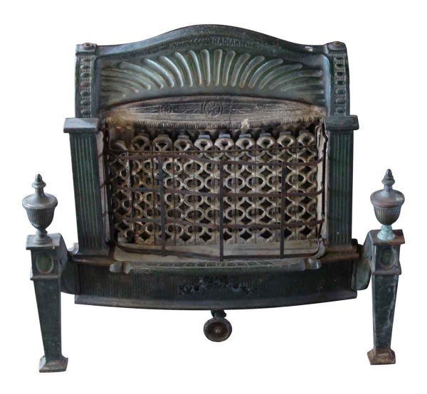 Screens & Covers - Federal Style Cast Iron Gas Fireplace Insert