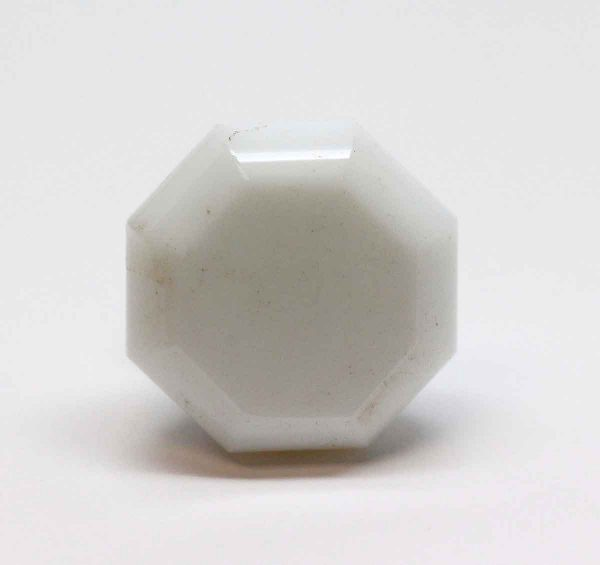 Cabinet & Furniture Knobs - White Milk Glass Drawer Knob