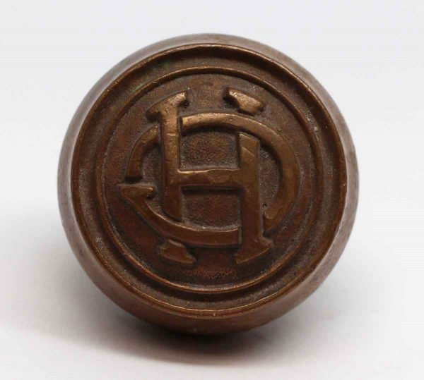 Door Knobs - Bronze Emblematic HC Door Knob